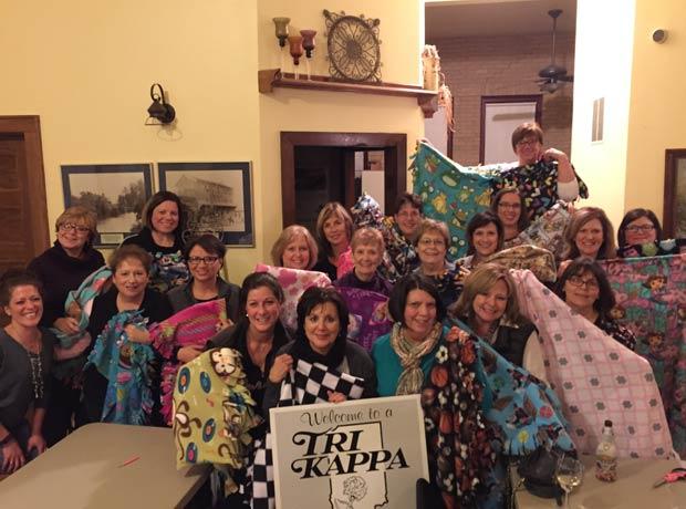 Tri-Kappa-blankets